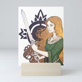 Warrior Mini Art Print