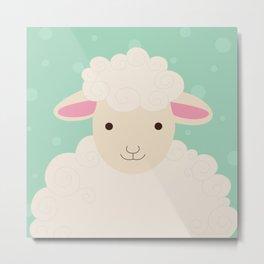 Sheep Series [SS 00] Metal Print