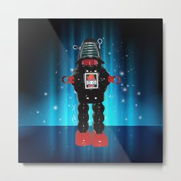 Robby Robot Metal Print