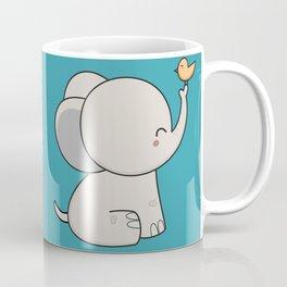 Kawaii Cute Elephant Coffee Mug