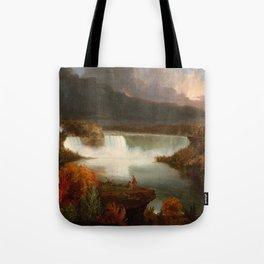 Distant View of Niagara Falls,1830, Thomas Cole Tote Bag