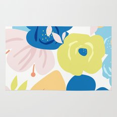 Painterly Blooms Rug