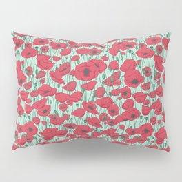 Poppies in August Pillow Sham
