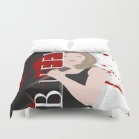 buffy the vampire slayer Duvet Covers featuring Buffy, the vampire slayer by Rose's Creation