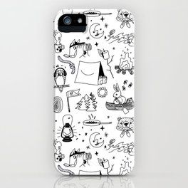 Animals Youth at Summer Camp iPhone Case
