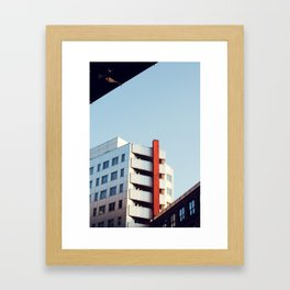 Contrasted Framed Art Print