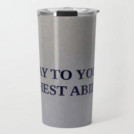 THINGS COACH SAYS Travel Mug