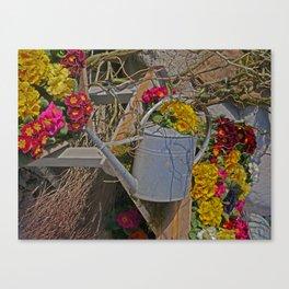 wake up Spring in Laupheim Canvas Print
