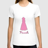 princess peach T-shirts featuring Peach by husavendaczek