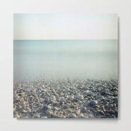 Ice Age. Analog. Film photography Metal Print