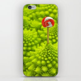 Romanesco Lollipop iPhone Skin