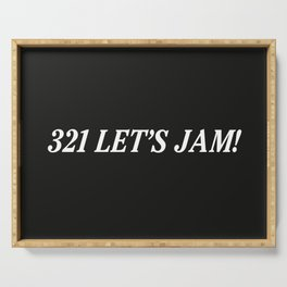 321 Let's Jam! Serving Tray