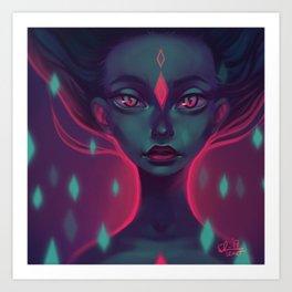 Caro girl Art Print