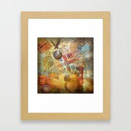 Сollage Framed Art Print