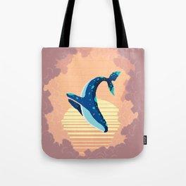 Sky Whale Tote Bag