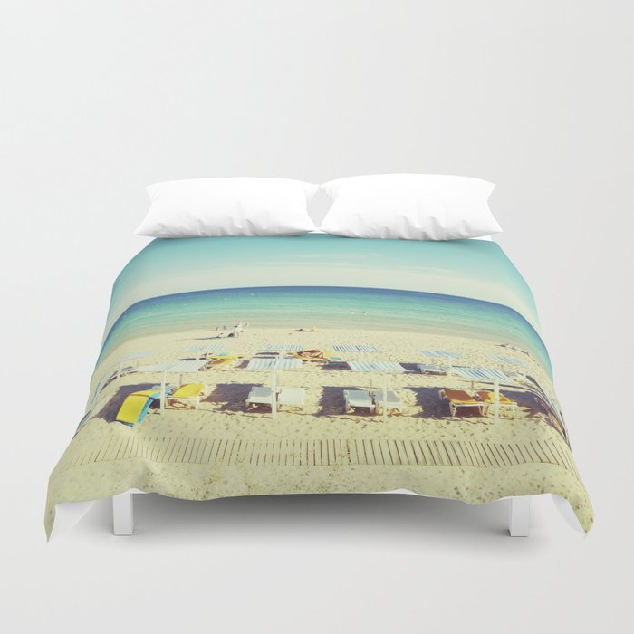 """Beach"". Summer Duvet Cover"