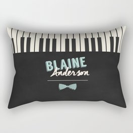 Blaine Anderson Piano Rectangular Pillow