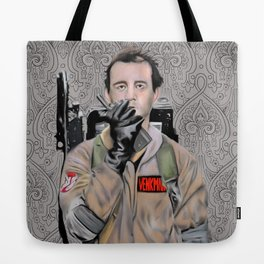 Bill Murray in Ghostbusters Tote Bag