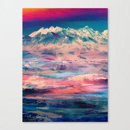 Dusky Mountain Canvas Print