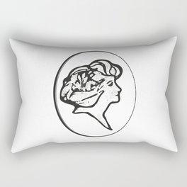 Elegant lady Rectangular Pillow
