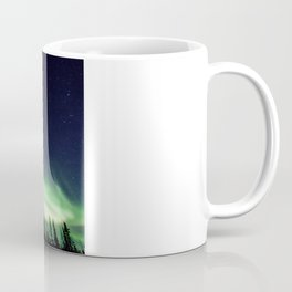 Aurora during geomagnetic storm in Yellowknife, Canada Coffee Mug