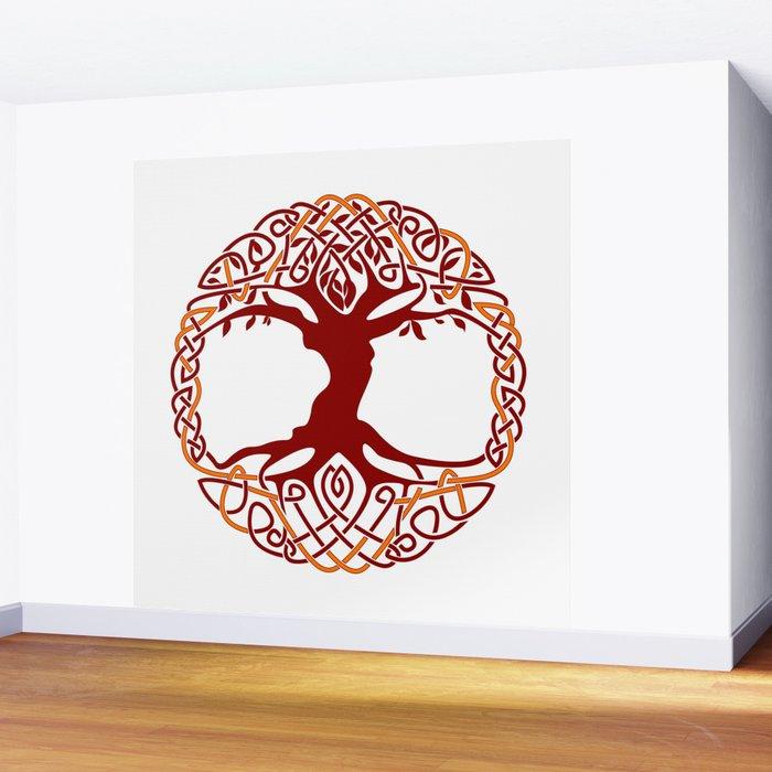 yggdrasil tree of life wall muraldefilemorality | society6