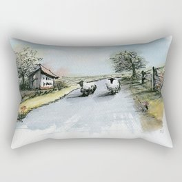 None Shall Pass Rectangular Pillow