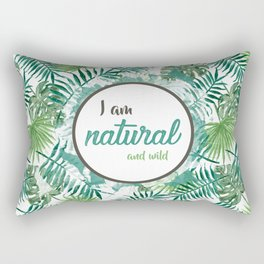 natural Rectangular Pillow