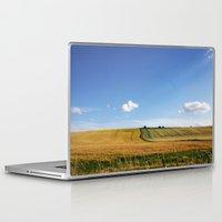 uk Laptop & iPad Skins featuring Wiltshire, UK by Dylan Jones