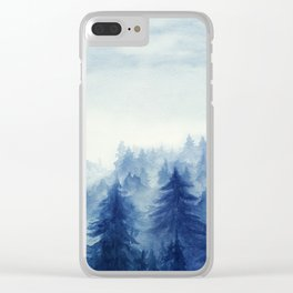 Into The Forest II Clear iPhone Case