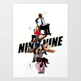 brooklyn nine nine Art Print