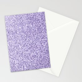 Ultra violet light purple glitter sparkles Stationery Cards