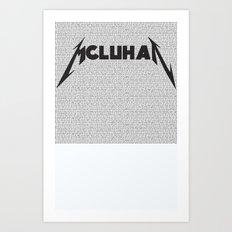 Heavy Metal Thunders Art Print