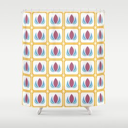 Indian Winter Shower Curtain