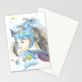 League of Legends - Vayne Watercolour Stationery Cards