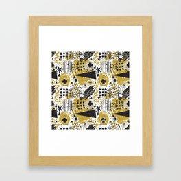 Itchy Sketchy No.1 Framed Art Print