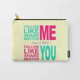 Follow Me Color Carry-All Pouch