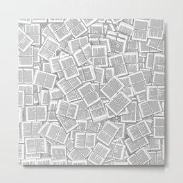 Literary Overload Metal Print