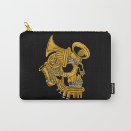 Real Brass Carry-All Pouch
