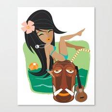 Belly Hai Canvas Print