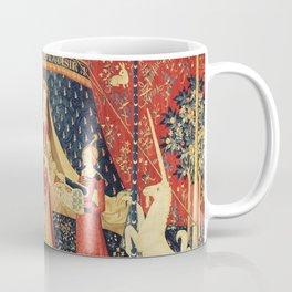 Lady and Unicorn Coffee Mug