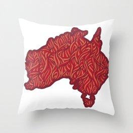 Australia Throw Pillow