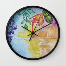 Hurricane Laura Relief Wall Clock