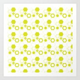 Polygon Art Print