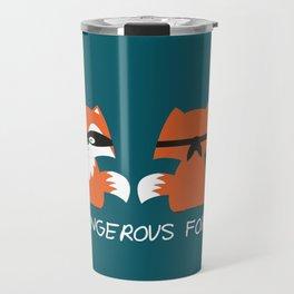 Dangerous Fox Travel Mug
