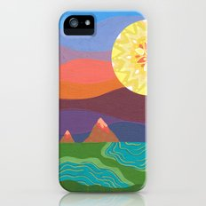 Sunset Mountains Slim Case iPhone (5, 5s)