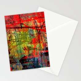 the city 5a Stationery Cards