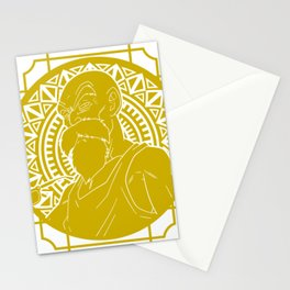 Stained Glass - Dragonball - Muten Roshi Stationery Cards