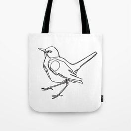 Loopy Bird Tote Bag