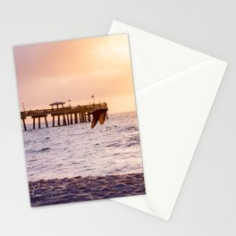 Dania Beach Pier (I) Stationery Cards
